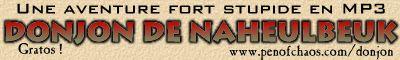 La bannière du donjon de Naheulbeuk